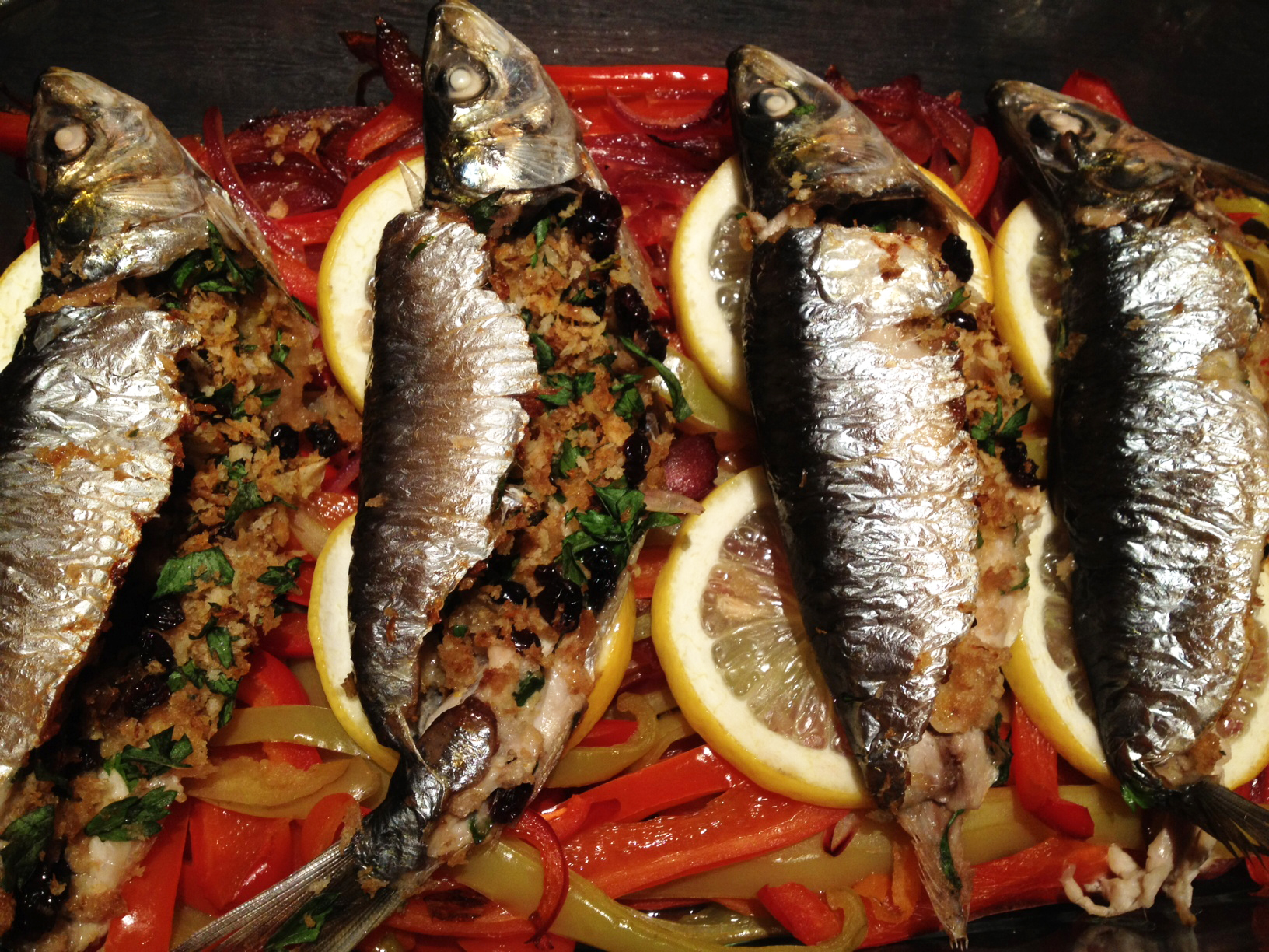 Eat to Beat: Stuffed Sardines with Sweet and Sour Peppers